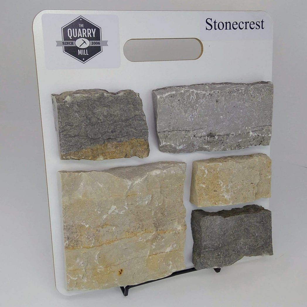 Stonecrest Natural Stone Veneer Sample Board