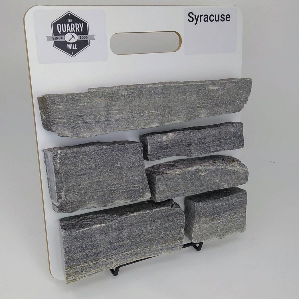 Syracuse Natural Stone Veneer Sample Board