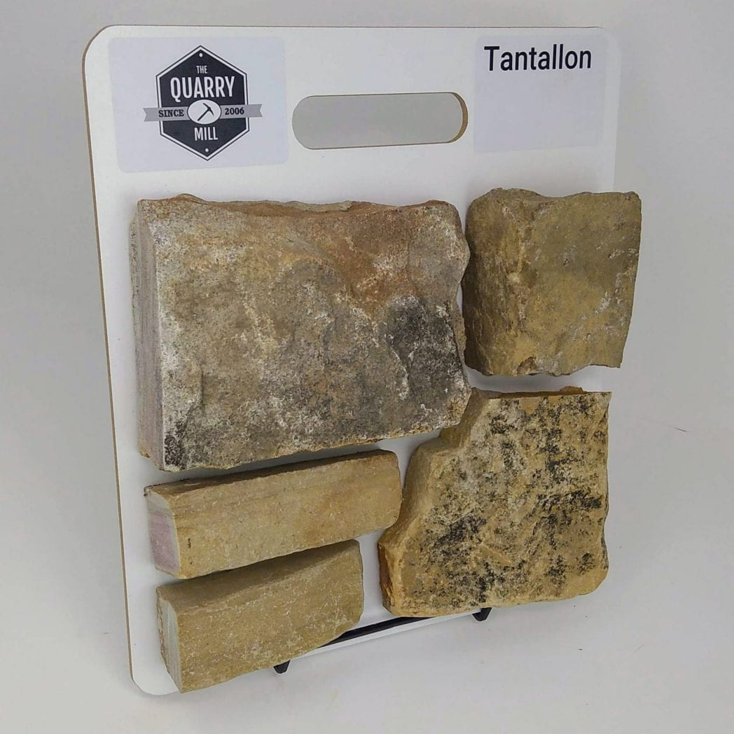 Tantallon Natural Stone Veneer Sample Board