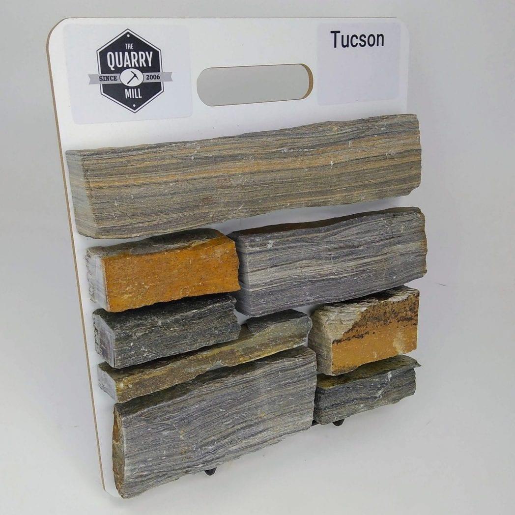 Tucson Natural Stone Veneer Sample Board