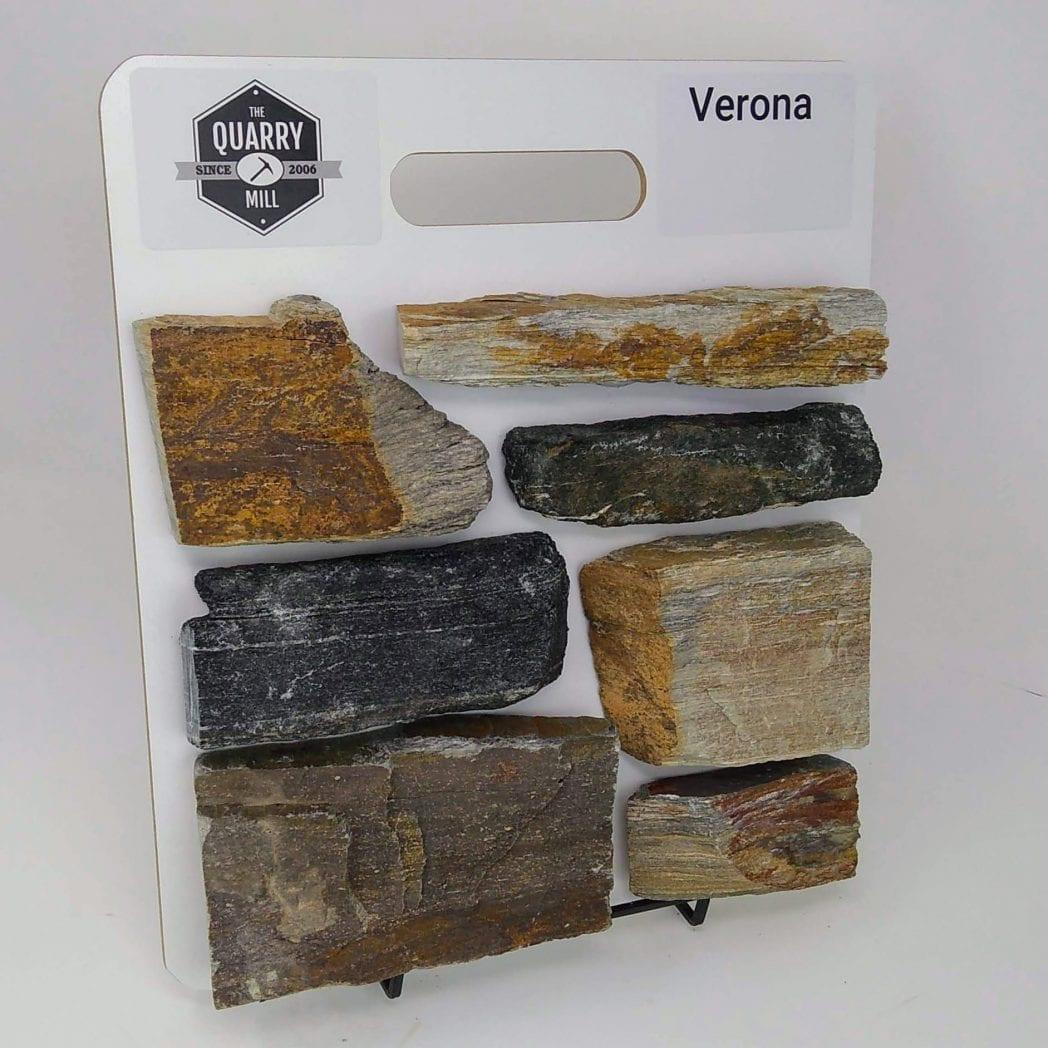 Verona Natural Stone Veneer Sample Board