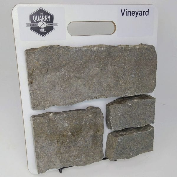 Vineyard Natural Stone Veneer Sample Board