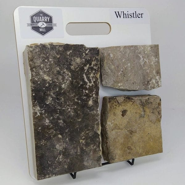 Whistler Natural Stone Veneer Sample Board