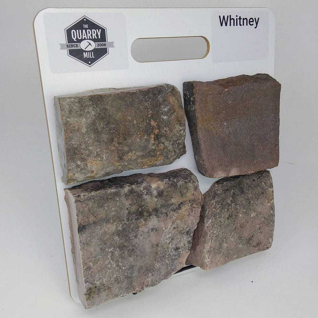 Whitney Natural Stone Veneer Sample Board