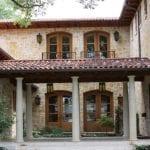 Kalahari Natural Thin Stone Veneer Residential Exterior