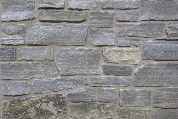 Swatch showing the Quarry Mill's Fish Creek natural stone veneer