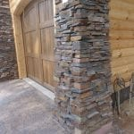 Torrington Natural Stone Veneer Pillars
