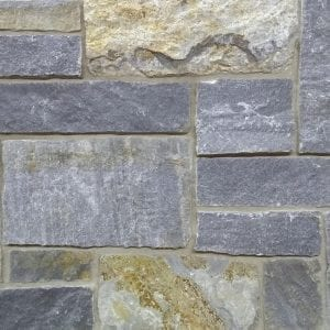 Blue-Grey Castle Rock Thin Stone Veneer