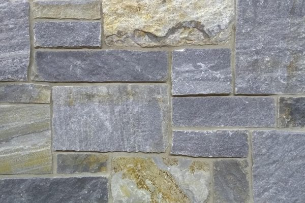 Blue-Grey Castle Rock Thin Stone Veneer
