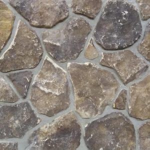 Brown Mosaic Real Stone Veneer