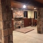Branson Real Stone Veneer Fireplace