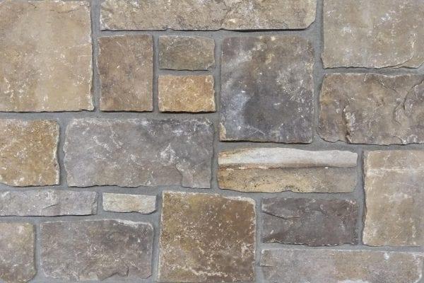 Swatch of Branson real stone veneer
