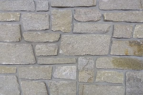 Swatch of Calgary real thin stone veneer