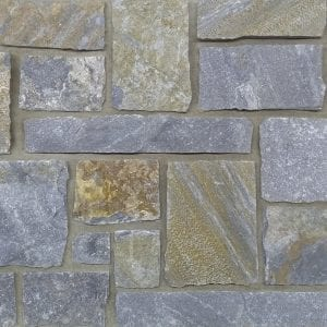 Swatch of Edmonton real thin stone veneer
