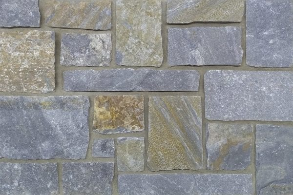 Swatch of Edmonton real thin stone veneer
