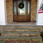 Hawthorne Real Stone Veneer Front Entrance