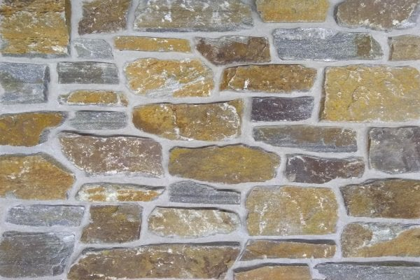 Swatch of Helmsdale real thin stone veneer