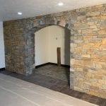 Helmsdale Real Stone Veneer Arch