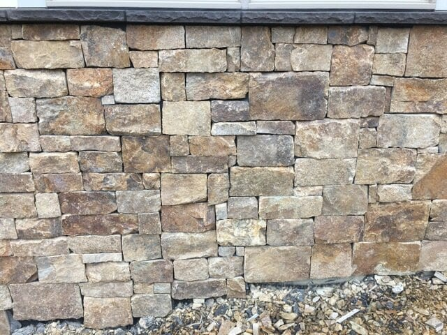 Kensington Natural Stone Veneer Close-Up