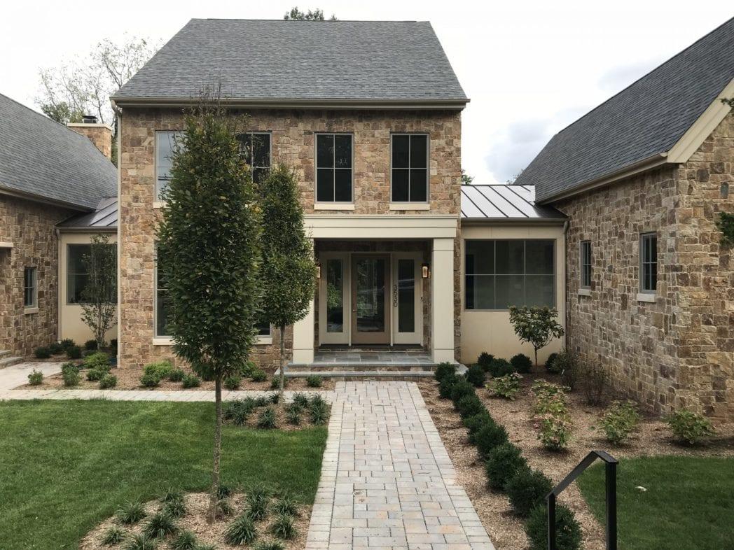 Kensington Real Stone Veneer Home Exterior