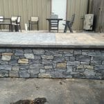 Mosholu Real Stone Veneer Patio