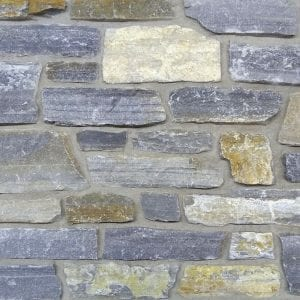 Swatch of Mosholu real thin stone veneer