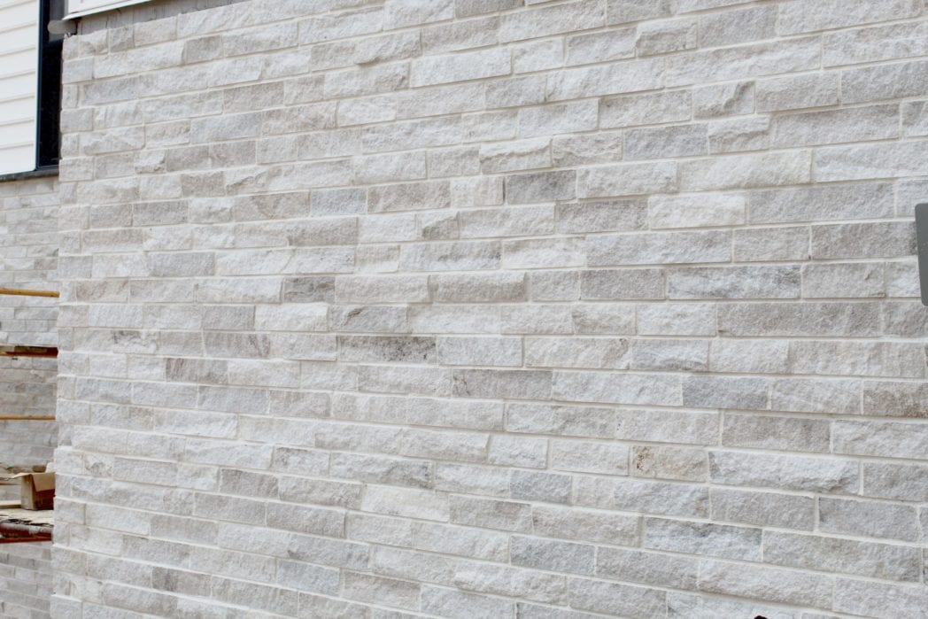 Whittier Natural Stone Veneer Wall