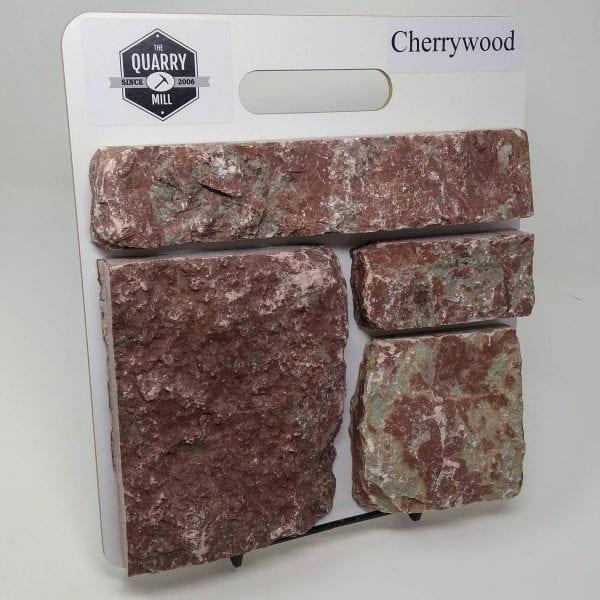 Cherrywood Natural Stone Veneer Sample Board