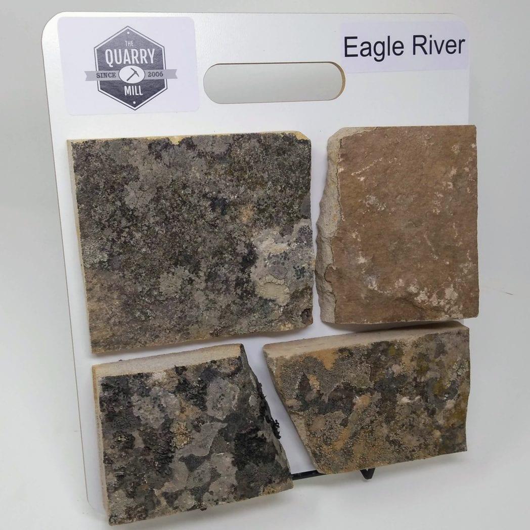 Eagle River Natural Stone Veneer Sample Board