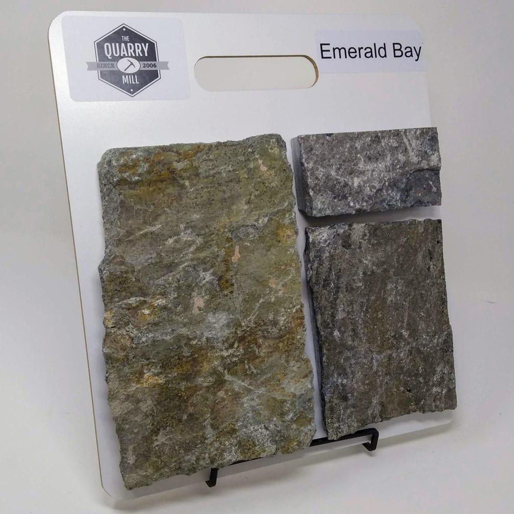 Emerald Bay Natural Stone Veneer Sample Board