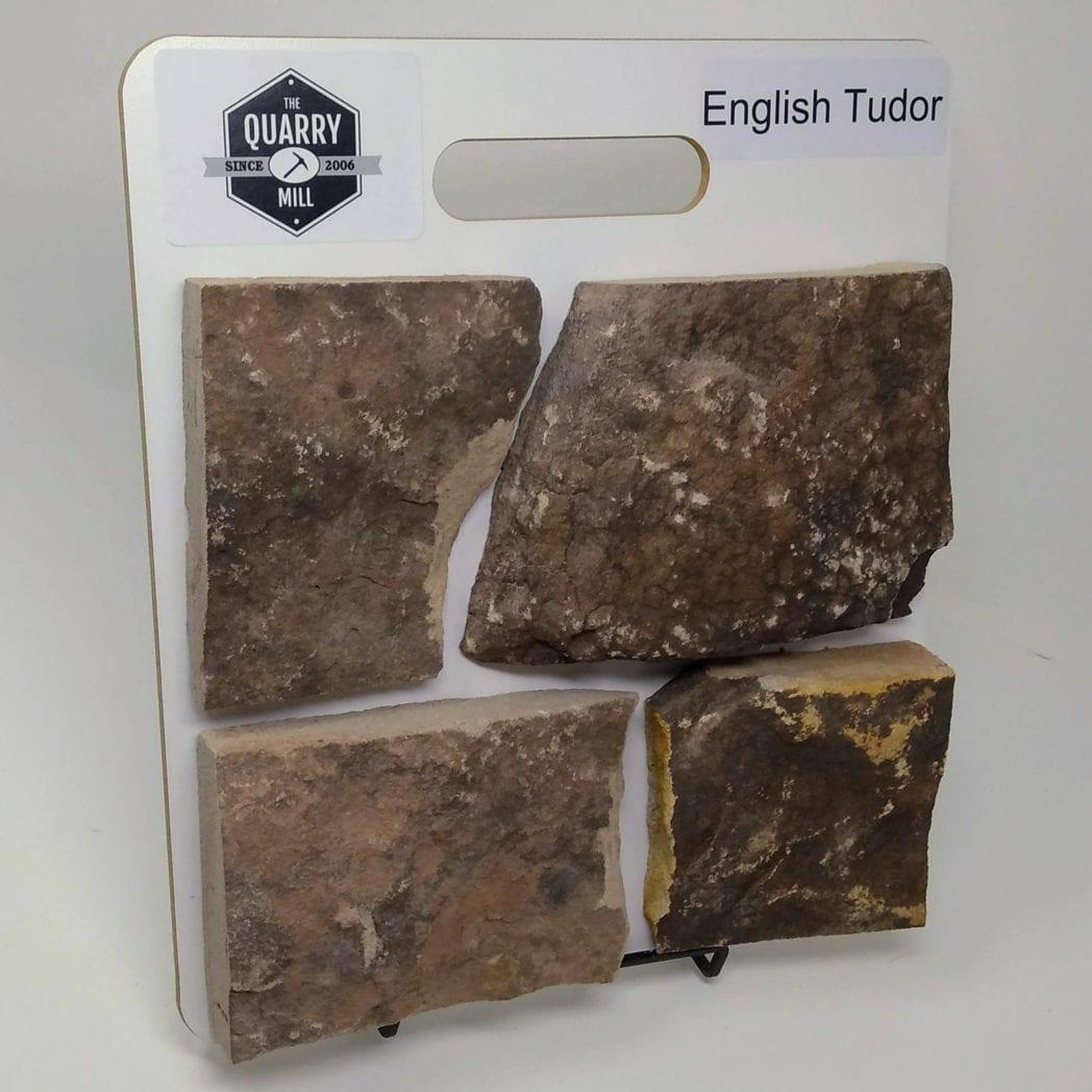 English Tudor Natural Stone Veneer Sample Board