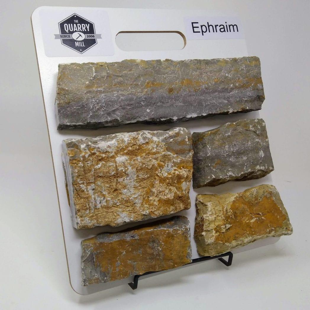 Ephraim Natural Stone Veneer Sample Board
