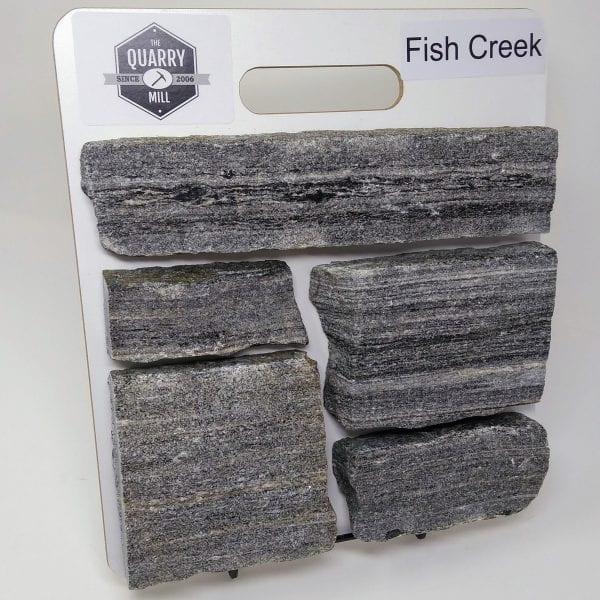 Fish Creek Natural Stone Veneer Sample Board