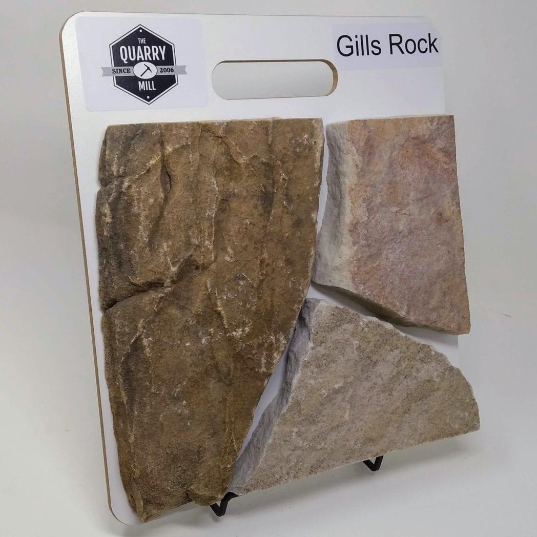 Gills Rock Natural Stone Veneer Sample Board