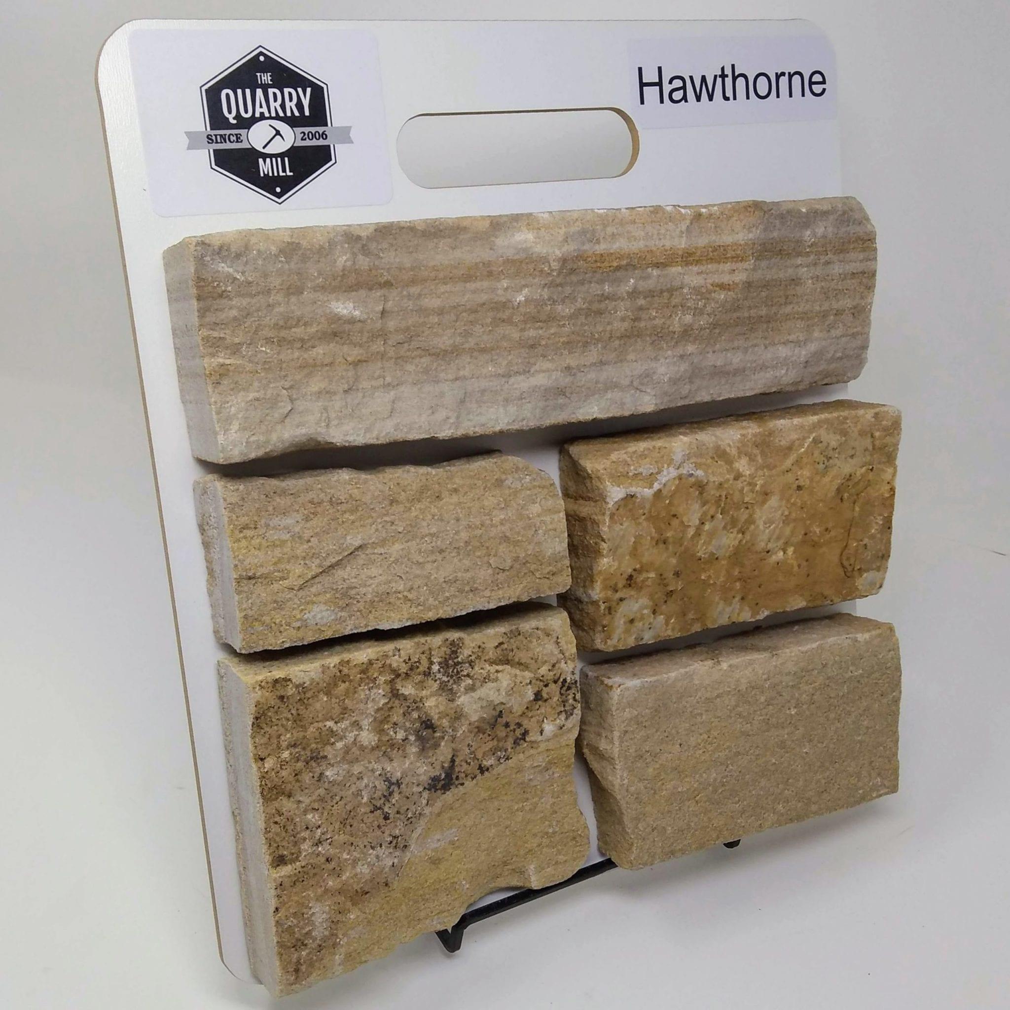 Hawthorne Natural Stone Veneer Sample Board