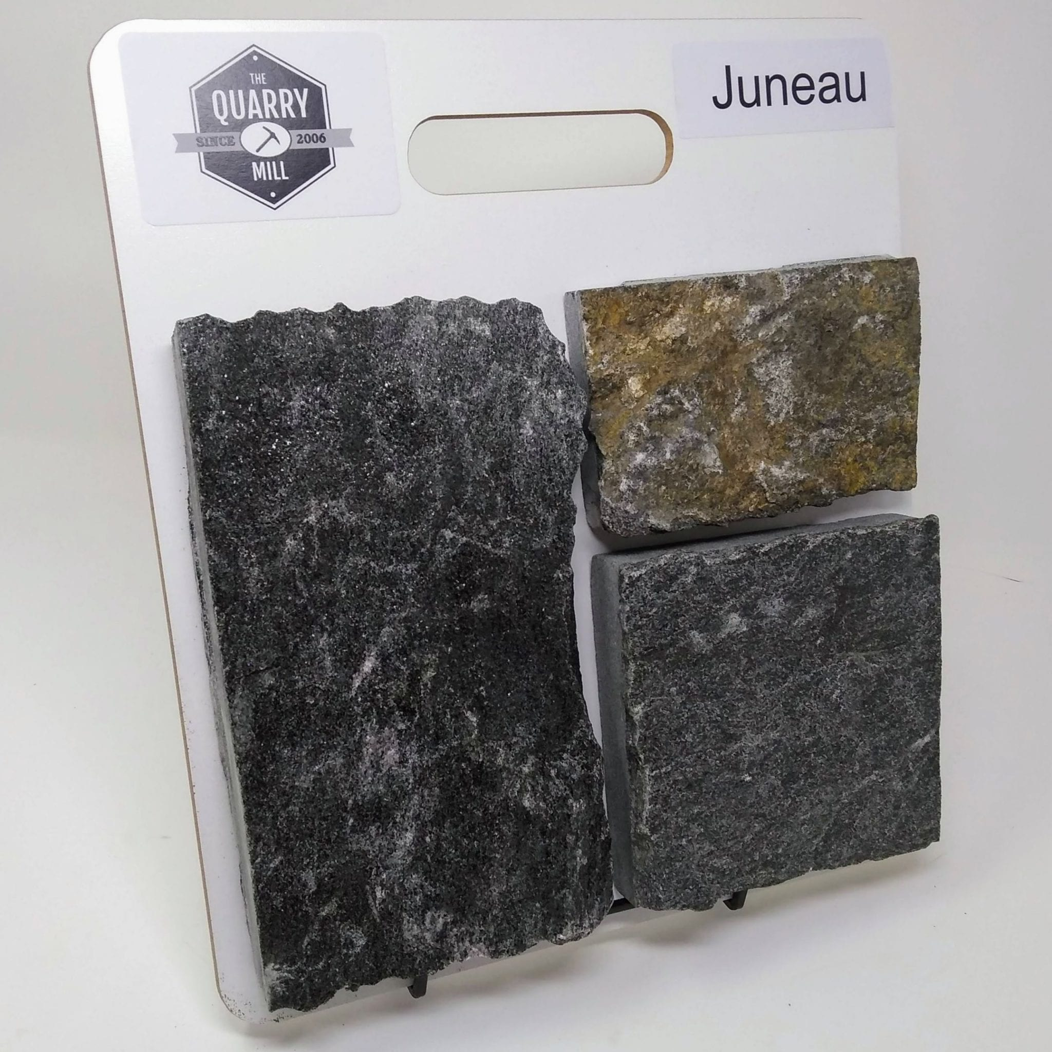 Juneau Natural Stone Veneer Sample Board