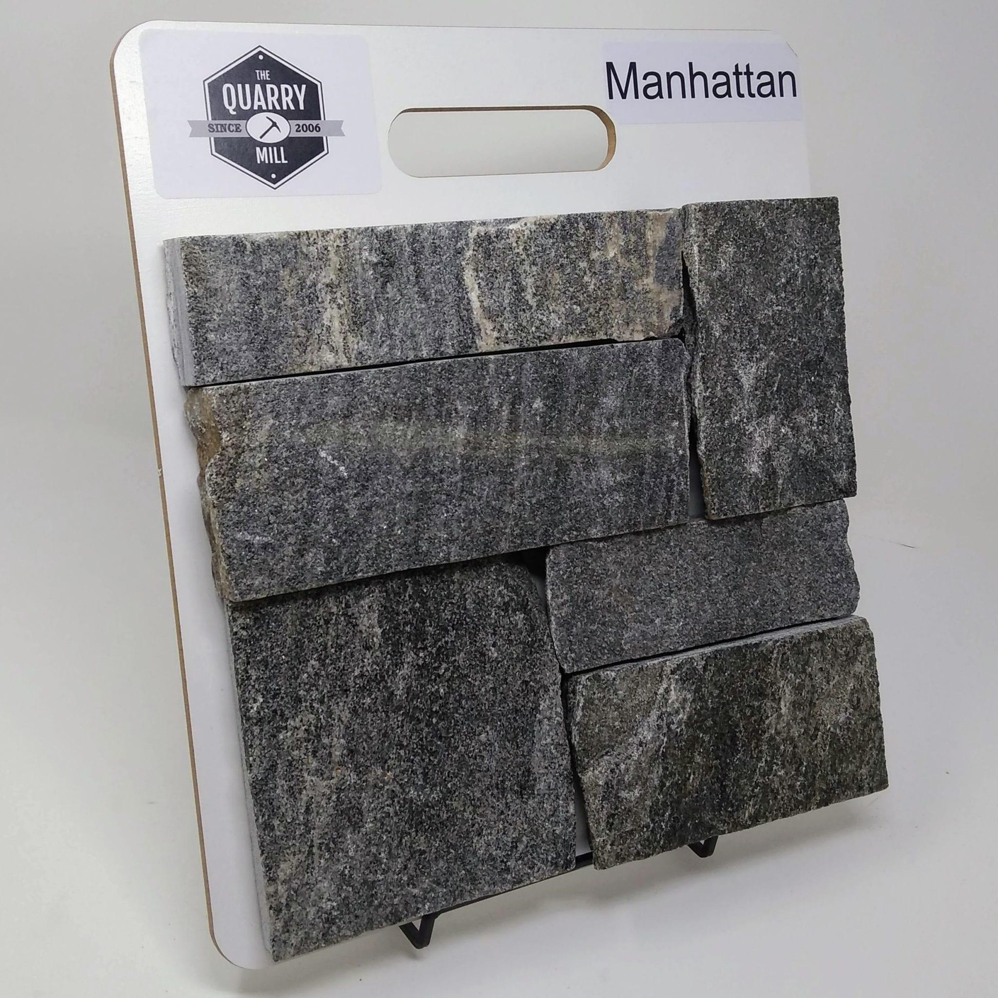 Manhattan Natural Stone Veneer Sample Board