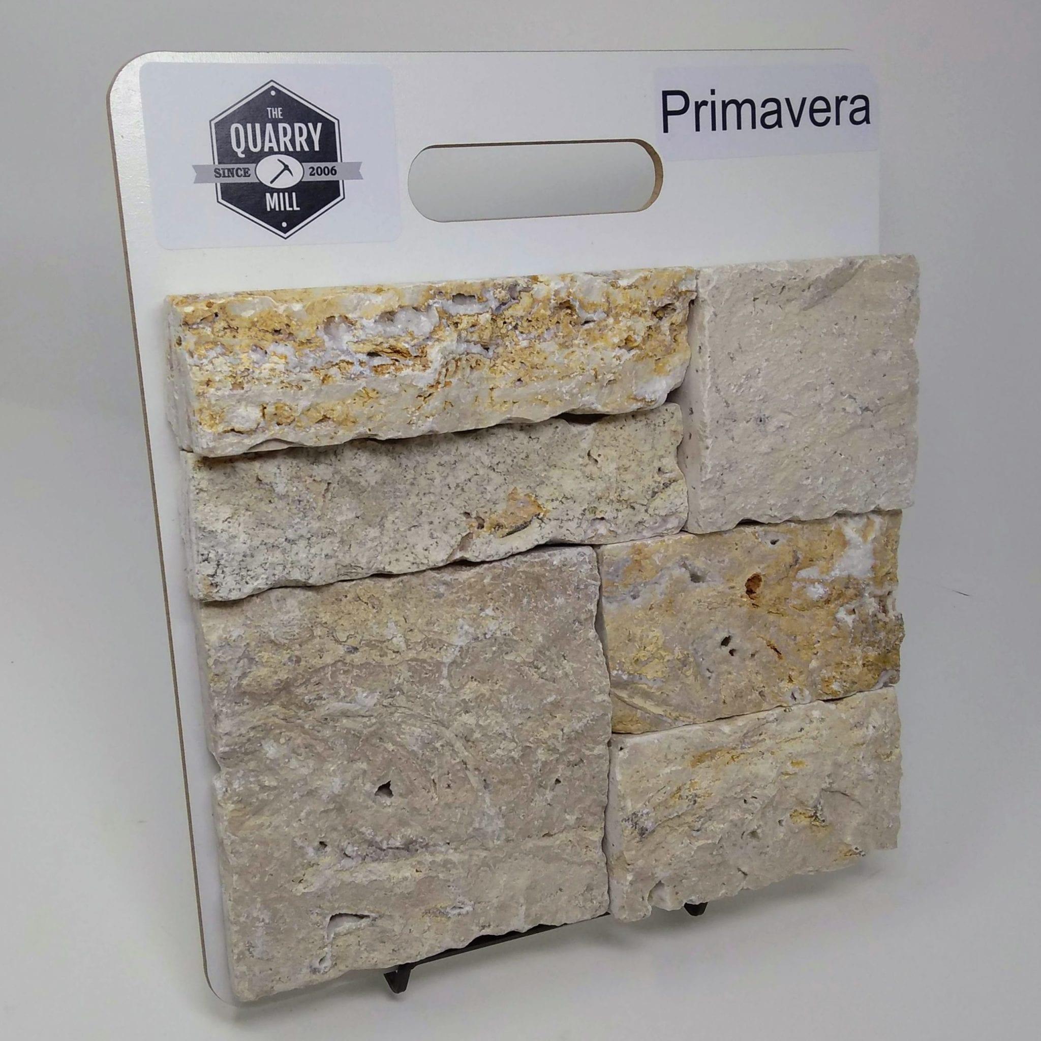 Primavera Natural Stone Veneer Sample Board
