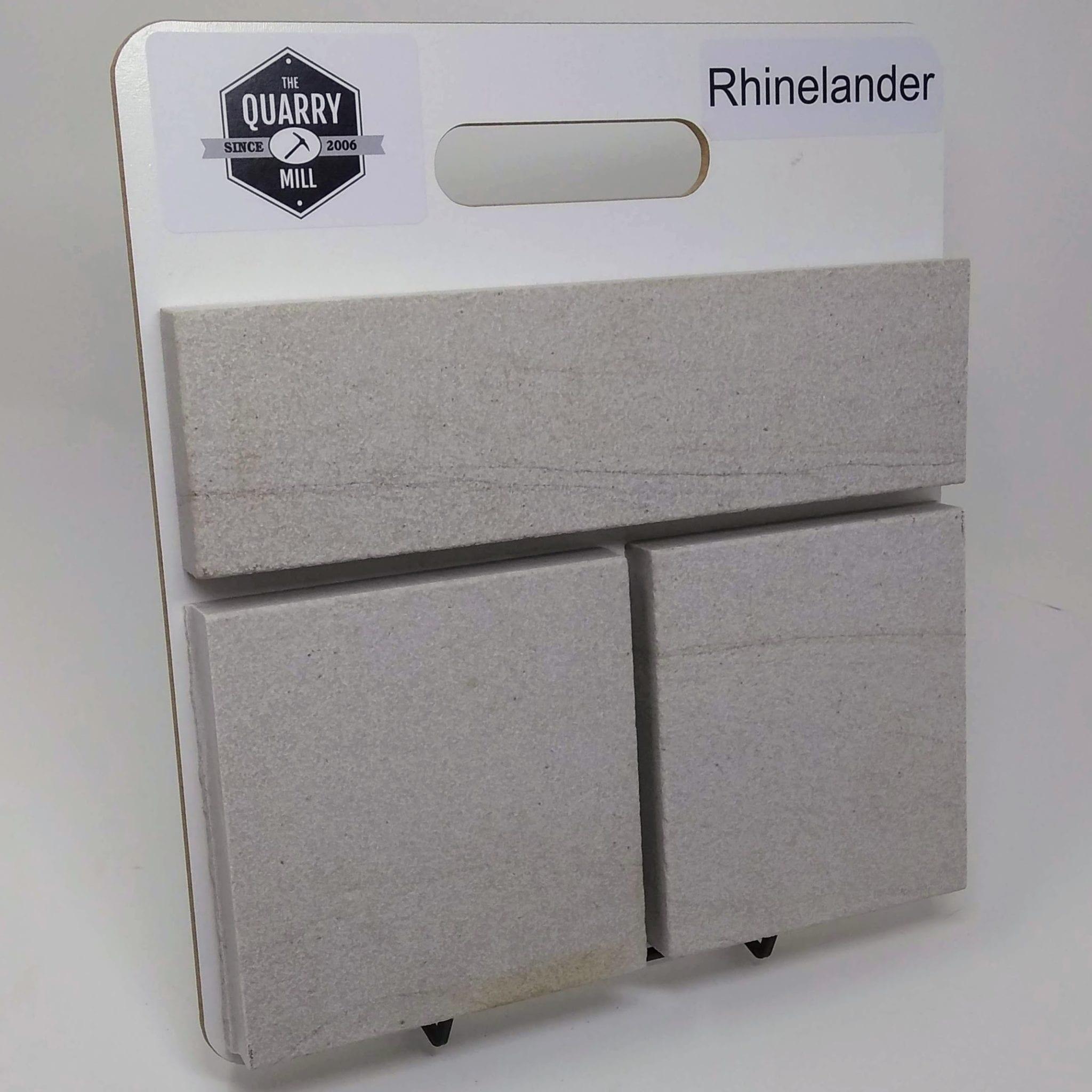 Rhinelander Natural Stone Veneer Sample Board