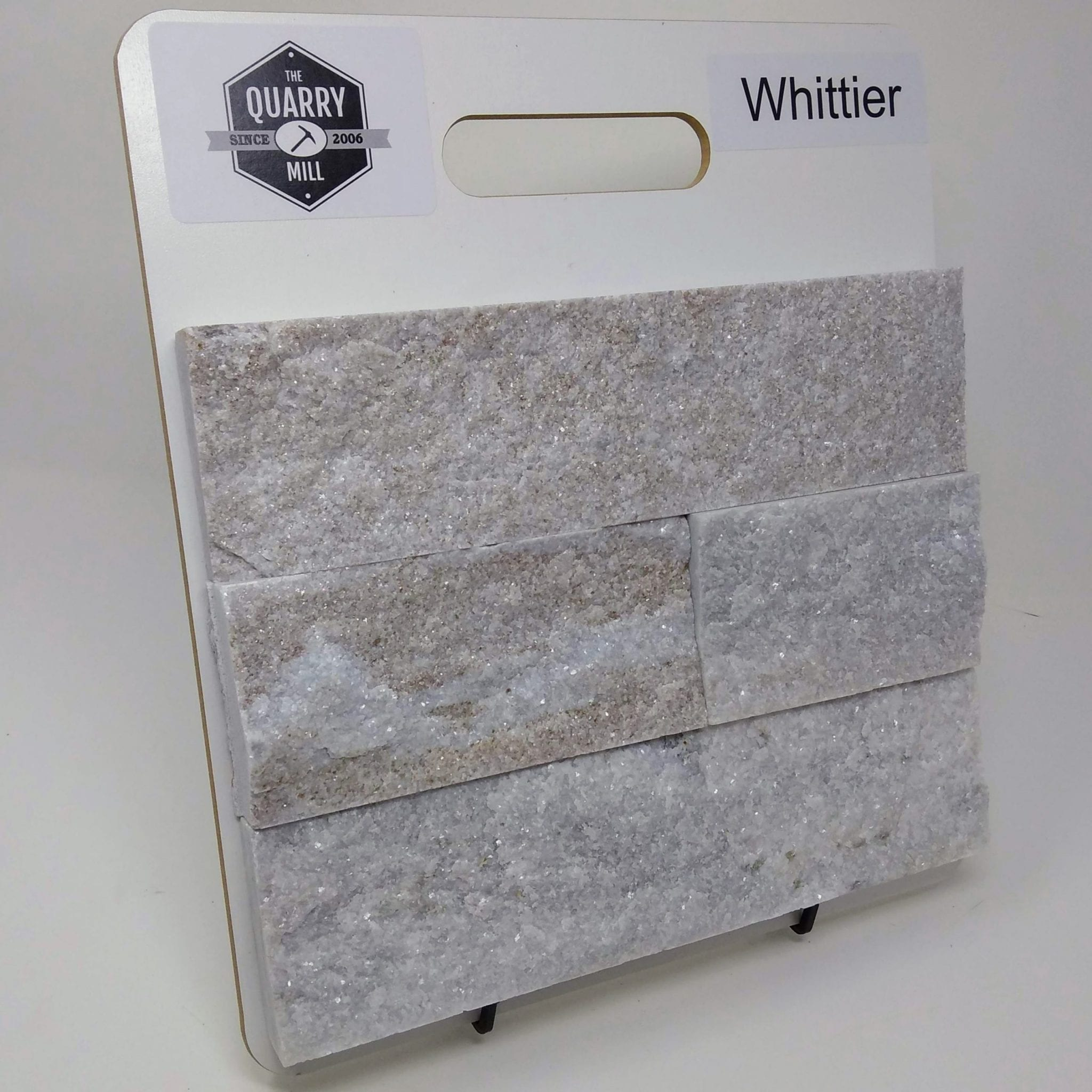 Whittier Natural Stone Veneer Sample Board