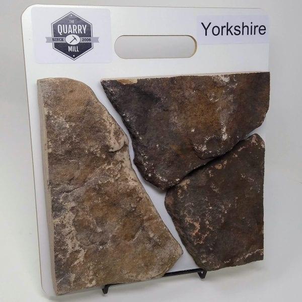 Yorkshire Natural Stone Veneer Sample Board