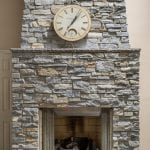 Mosholu Natural Stone Veneer Interior Fireplace