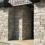 Pewter Night Dimensional Thin Stone Stone Veneer