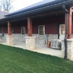 Pewter Night Natural Thin Stone Veneer Exterior
