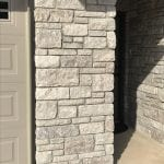 Pewter Night Tumbled Dimensional Real Stone Veneer