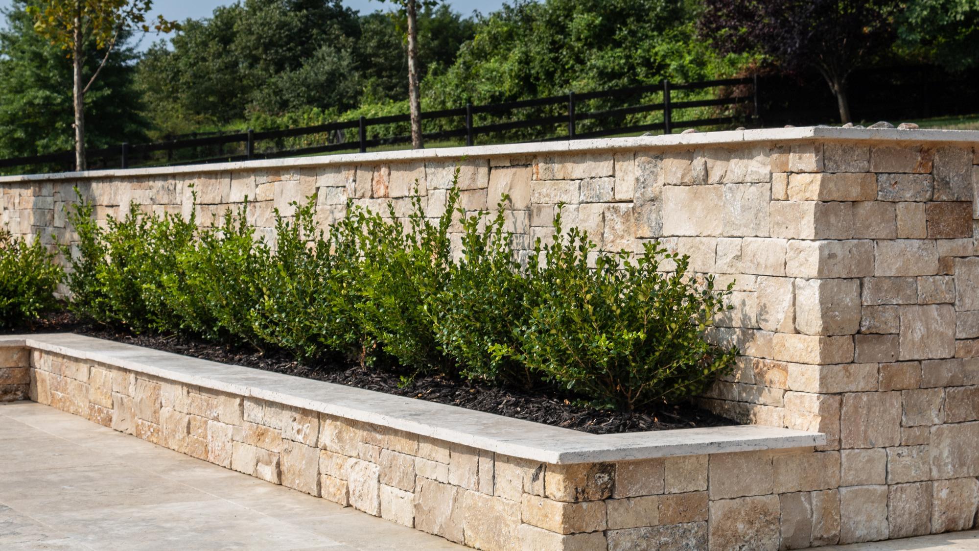 Primavera Natural Stone Veneer Wall