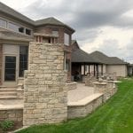 Addison Tumbled Natural Stone Veneer Outdoor Living