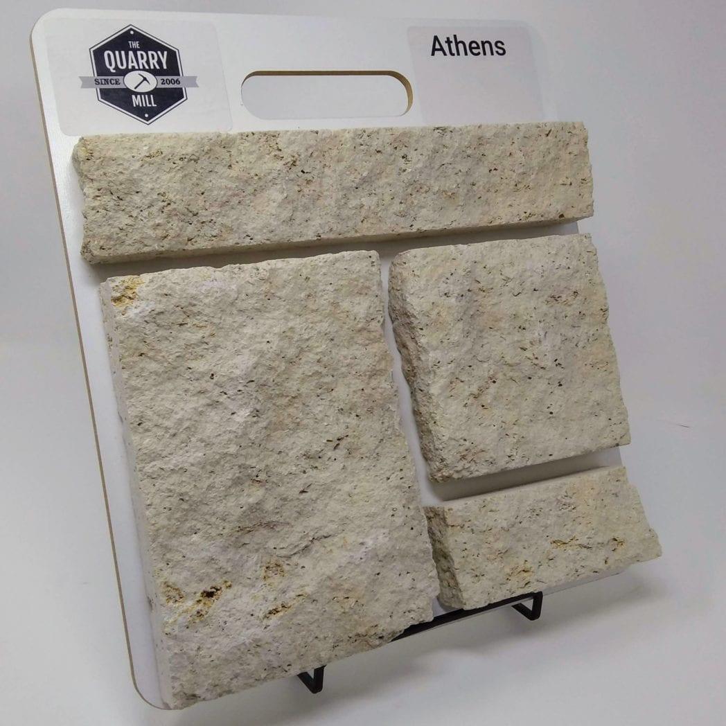 Athens Natural Stone Veneer Sample Board