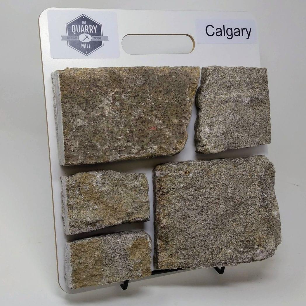 Calgary Natural Stone Veneer Sample Board