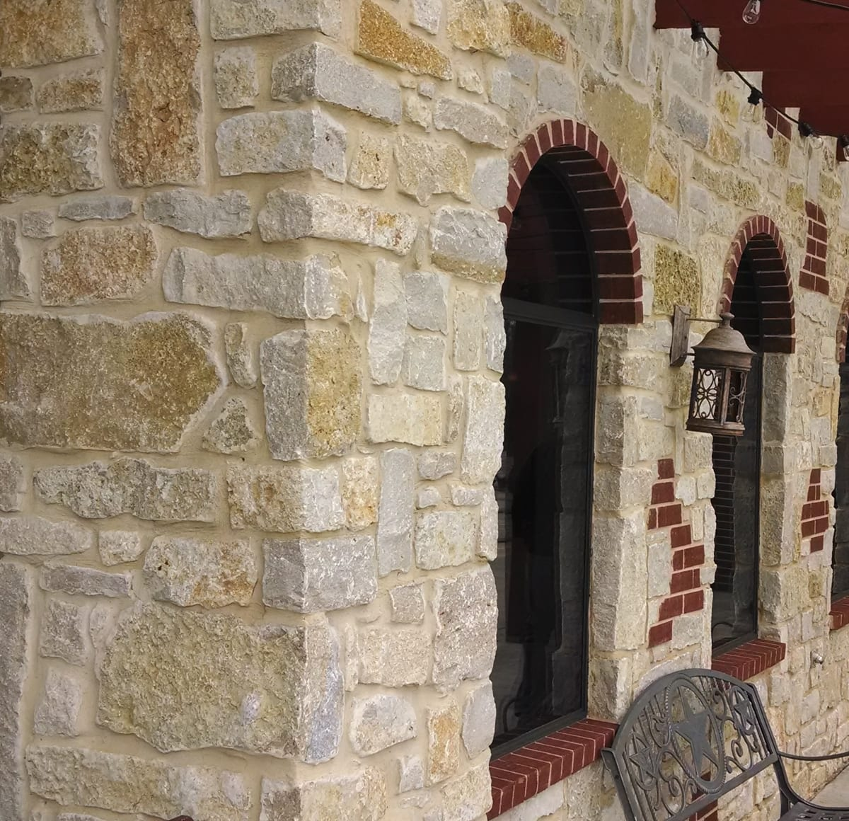 Madison Natural Thin Stone Veneer Commercial Exterior